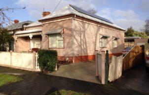 Johnson St Ballarat house