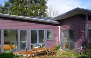 Chaffey Gardens (the purple house)
