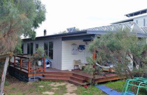 From fibro shack to cosy eco family home
