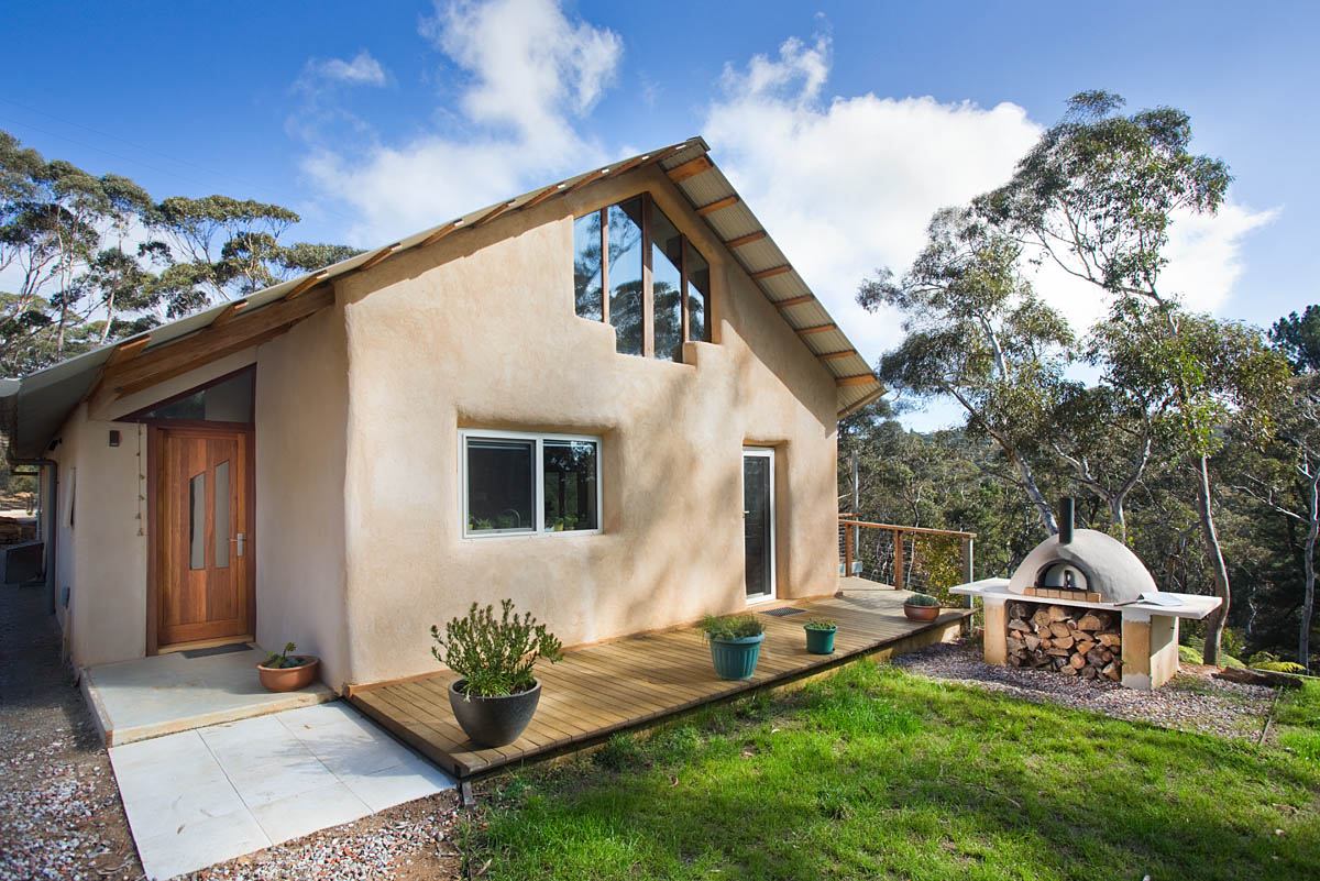Blackheath Strawbale House - Sustainable House Day