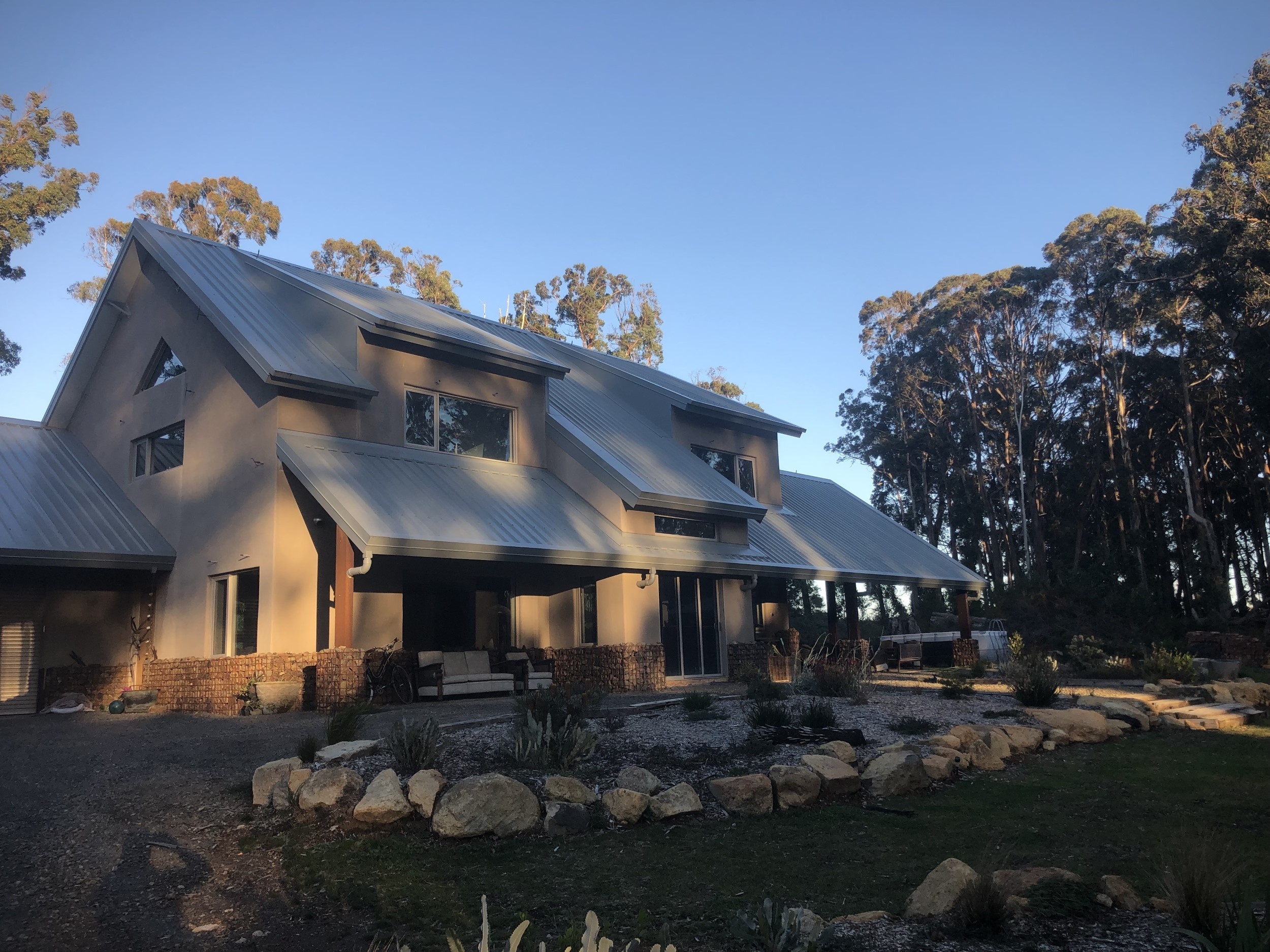 Toolangi Forest Off-grid House