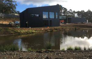 Tasmania's First CLT House