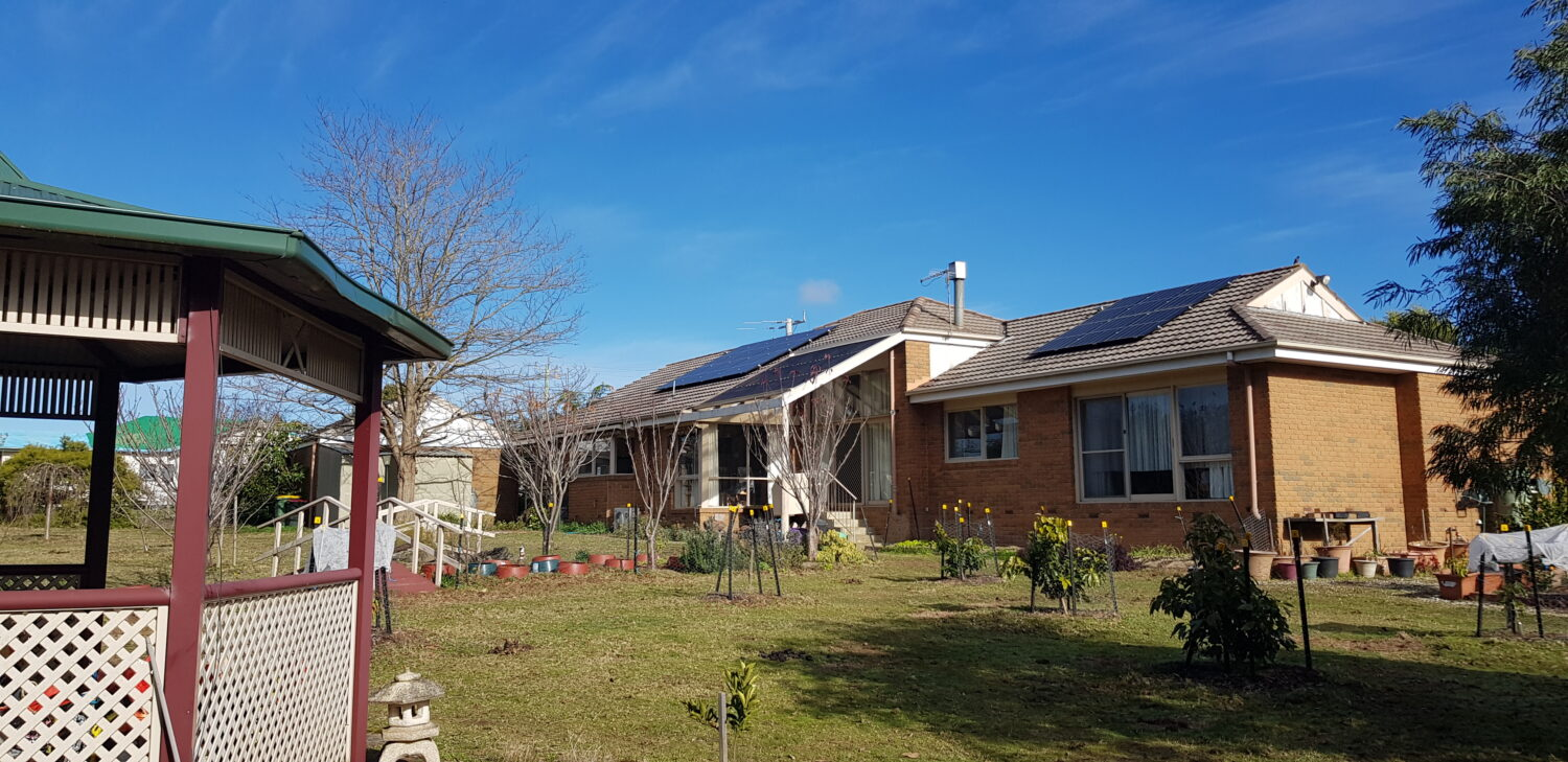 Solar/Battery Kinglake West House
