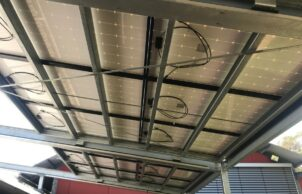 Retractable PV Awning - Sustainable House Day
