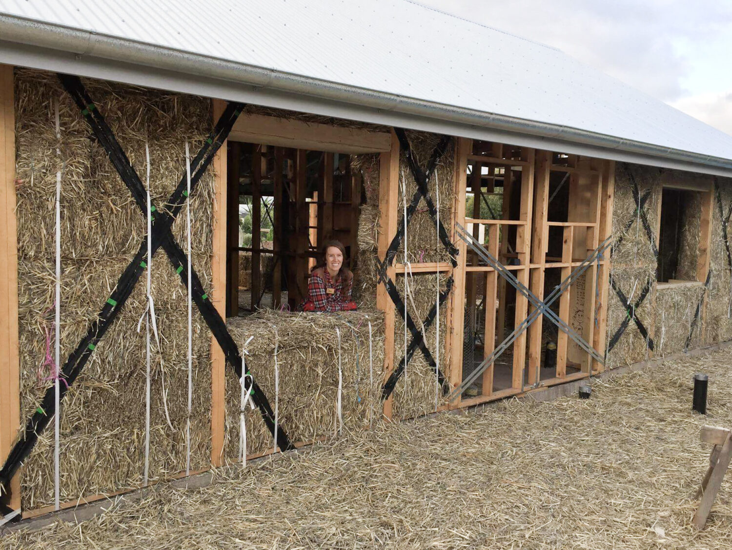 Folk Of All Trades Strawbale Home